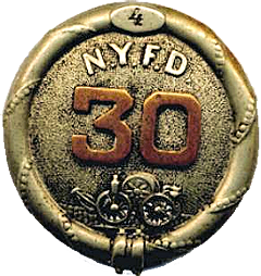 badge for hose carriage in NYC