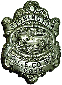 badge of Stonington CT Fire Dept.