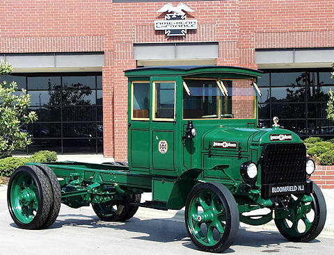 American LaFrance type 5R commercial truck restoration at the American LaFrance museum.