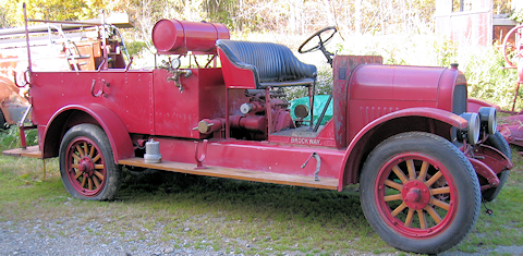 1922 Brockway before restoration.