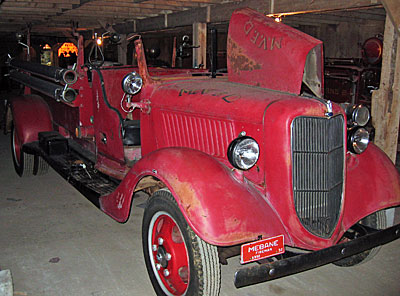 1932 Fore fire engine before restoration.